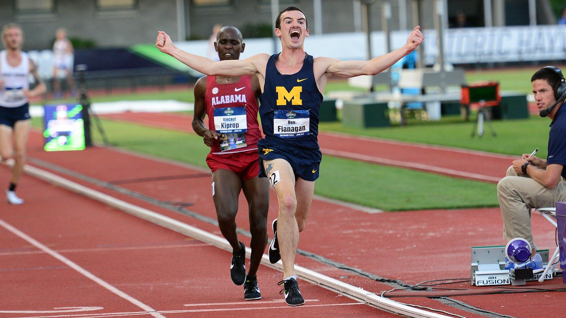Ben-Flanagan-St-Mary's-alumnus-NCAA-10,000m-championship-June-2018
