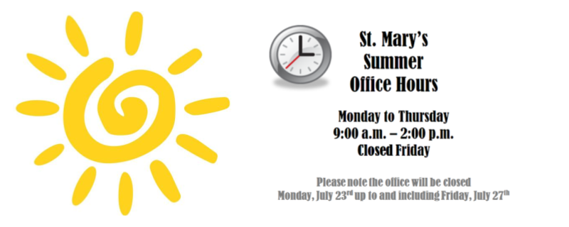 summer-hours-2018-st-marys-hs